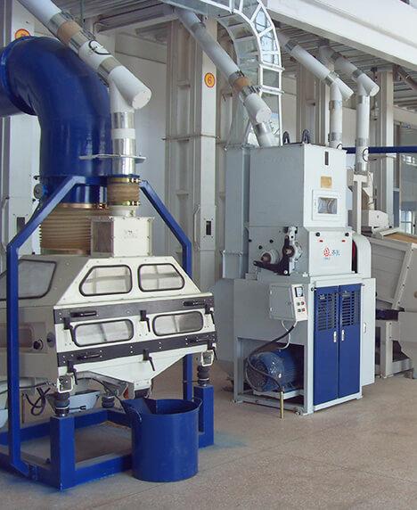 Liaoning Benxi Mingshan Grain Depot Co. Ltd; 2x100T Rice